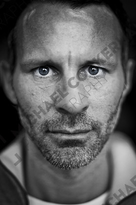 ncf-gan 1113 d013   Ryan Giggs OBE is the most decorated player in English Football history and a stalwart of Manchester United.   Keywords: Ryan Giggs, Manchester United, football, portrait.